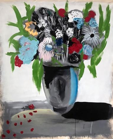 Jenn Dierdorf, Dropped Petals, 2017