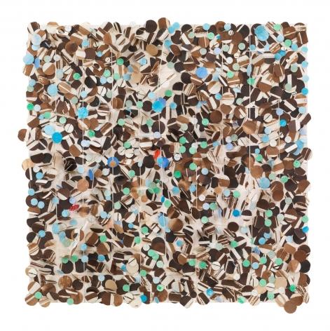 Howardena Pindell, Untitled #51, 2010