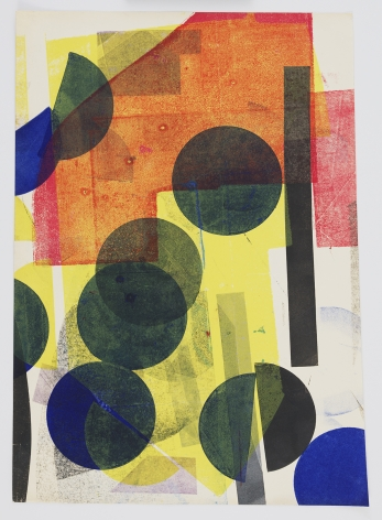 Austin Thomas, Myriad Lines, Dots, Daubs,, 2020