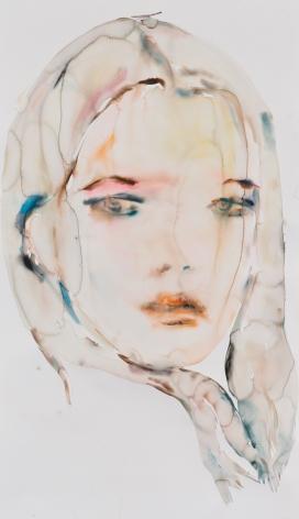 Kim McCarty, Untitled (Orange), 2015