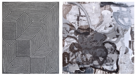 Left: Samantha Bittman, Untitled, 2014