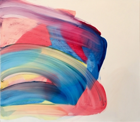 Andrea Belag, This Is Not A Color Field Painting, 2018