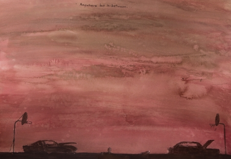 David Rathman, Anywhere But In Between, 2014