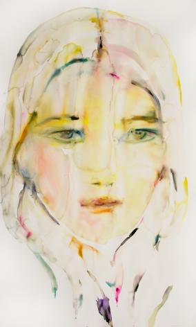 Kim McCarty, Untitled (Violet), 2015