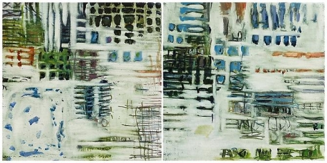Judith Belzer, Edgelands #9 and Edgelands #10 (2012)