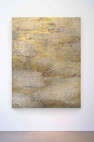 Nancy Lorenz, Lemon Gold Waves, 2016