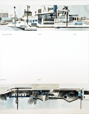 Amy Park, Ed Ruscha's Every Building on the Sunset Strip, #2, 2016