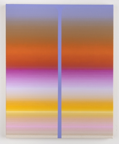 Audrey Stone, Double Pour (Lavender), 2019