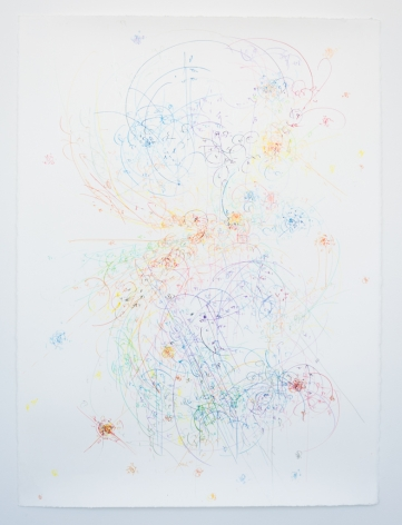 Kysa Johnson, blow up 347 - the long goodbye - subatomic decay patterns and star forming region SL106 IRS4, 2018