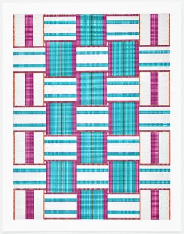 Carly Glovinski, Leisure Weave 4, 2017