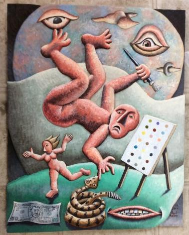 Morgan Bulkeley, Art Gone Awry, 2014