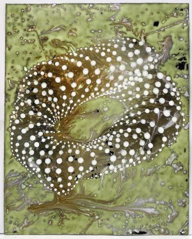 Barbara Takenaga, Untitled (Green Windy), 2015