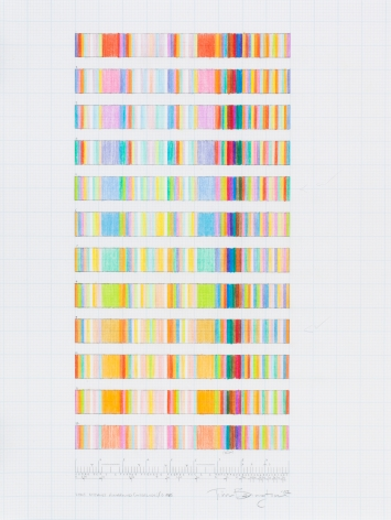 "Tim Bavington, Study For ""Long Distance Runaround (interlude)/ C MAJ"", 2002"