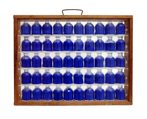 John Salvest, Portable Blue, 2010