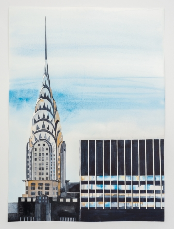 Amy Park, Winter Midtown View from 432 Park Ave. NYC #1 (Chrysler Building), 2021