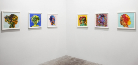 Firelei Baez, 2013, (Installation view)