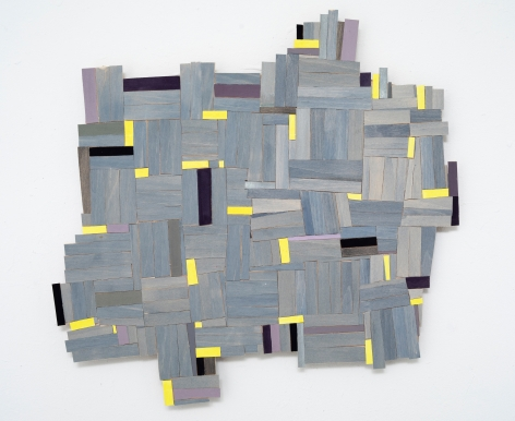 Ruby Palmer, Wooden Quilt, 2019