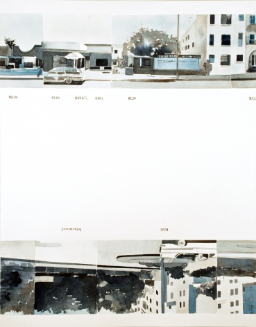 Amy Park, Ed Ruscha's Every Building on the Sunset Strip, #6, 2016