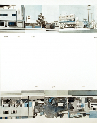 Amy Park, Ed Ruscha's Every Building on the Sunset Strip, #10, 2016