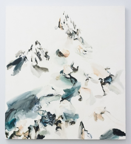 Elisa Johns  Bishop Peak, 2018  Oil on canvas  40h x 36w in (101.60h x 91.44w cm)