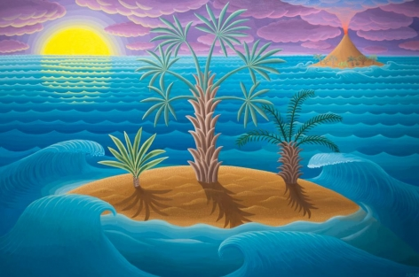 Amy Lincoln, Islands and Waves, 2018