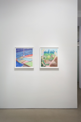 Leigh Ruple, Lovers Way, (installation view)