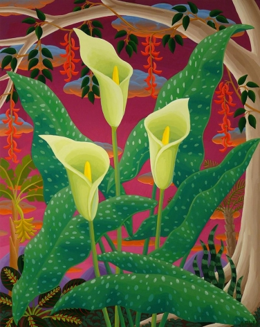 Amy Lincoln, Spotted Calla Lily, 2016