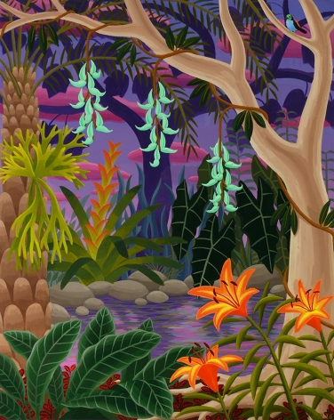 Amy Lincoln, Jungle with Jade Vine, 2016