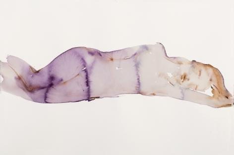 Kim McCarty, Purple Reclining - Small, 2017