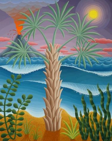Amy Lincoln, Bismark Palm, 2017