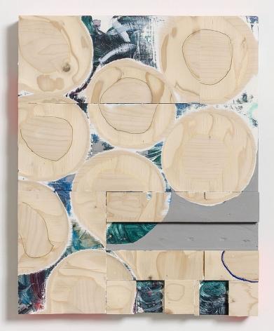 Cordy Ryman, Yellow Gill, 2017
