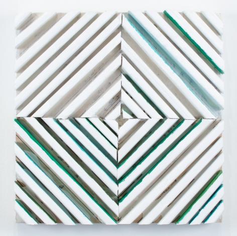 Cordy Ryman, Butor Bits Vert, 2014