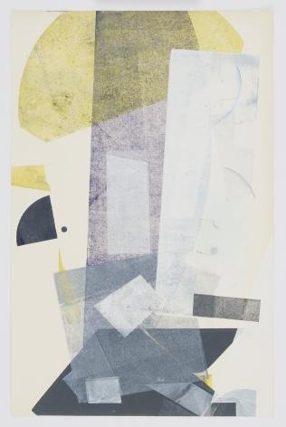 Austin Thomas, Yellow, White Throughout the Gray, 2020