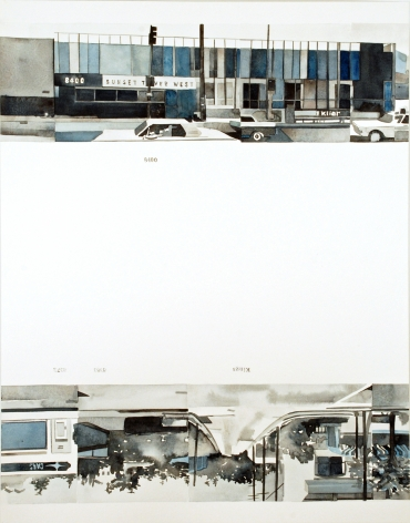 Amy Park, Ed Ruscha's Every Building on the Sunset Strip, #15, 2016