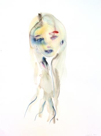 Kim McCarty, Untitled (Long Hair), 2015