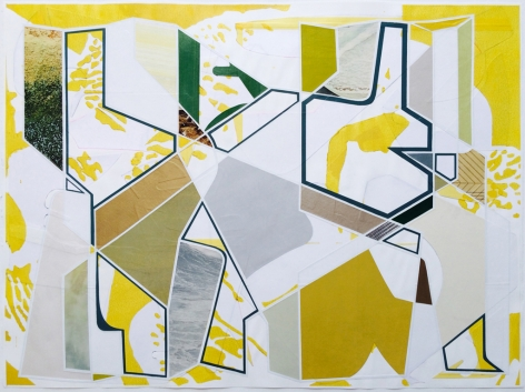 Aaron Wexler, Plotting Against Yellow, 2014