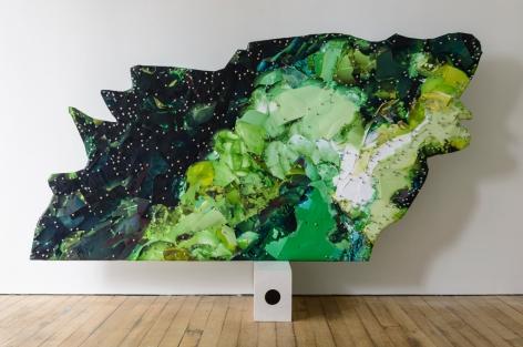 Selena Kimball, Mapping Night Vision #1, 2015
