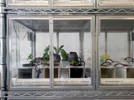 Flight Cage,Studio View, Paradigm, Long Island City, NY 2014