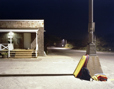David S. Allee, East Hampton Main Beach Lamp Post, 2010