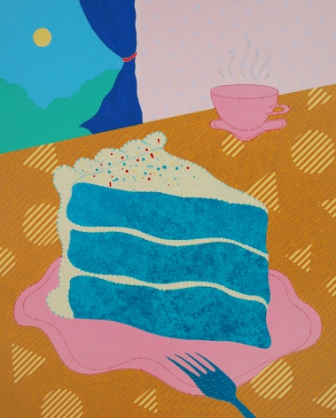 Eric Hibit, Blue Velvet, 2018