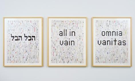 John Salvest, HakolHevel,All in Vain,Omnia Vanitas (2014)