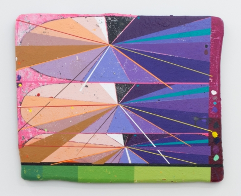 Nathan Randall Green, Eternal Inflation (3 Stack), 2021