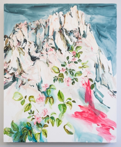 Elisa Johns  Evolution Wilderness, 2018  Oil on canvas  44h x 36w in 111.76h x 91.44w cm