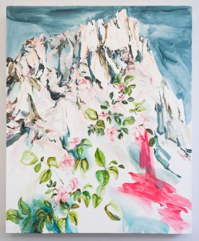 Elisa Johns  Evolution Wilderness, 2018  Oil on canvas  44h x 36w in 111.76h x 91.44w cm