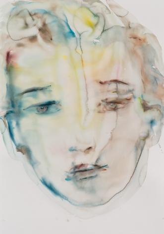 Kim McCarty, Untitled (Blue), 2015