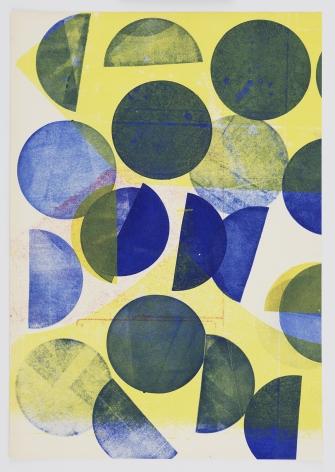 Austin Thomas, Small Circles of Blue, 2020