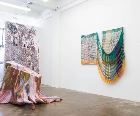 Group exhibition: Woven Walls, 2019, (installation view)