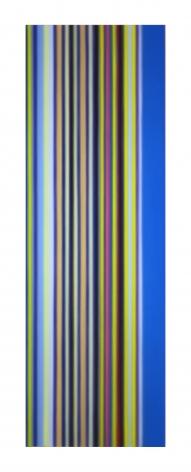 Tim Bavington, (baby) Blue, 2017