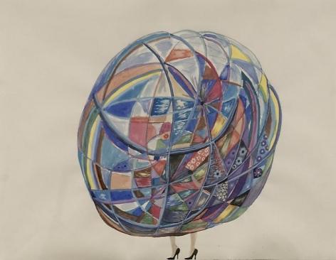 Nina Bovasso: High Heels Geo Dome (2011)