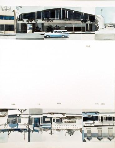 Amy Park, Ed Ruscha's Every Building on the Sunset Strip, #46, 2016
